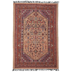 Bloomingville Persian Inspired Rug - Pink