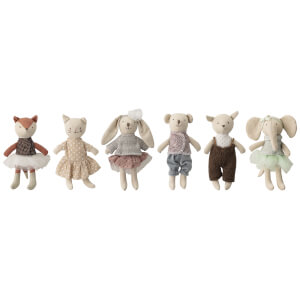 Bloomingville MINI Soft Toy Animals (Set of 6)
