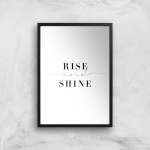 Rise And Shine Giclee Art Print