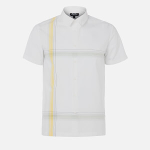 A.P.C. Men's Chemisette Leandre Polo Shirt - Blanc