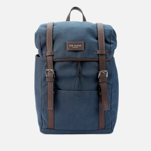 Ted Baker Men's Zafron Faux Nubuck Backpack - Navy