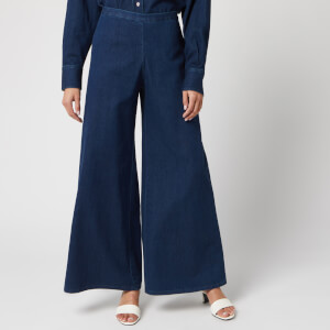 Simon Miller Women's Wide Leg Trousers - Rinsedown