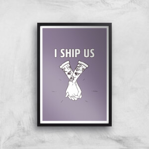 Sea Of Thieves I Ship Us Art Print Giclee Art Print