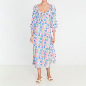 Faithfull the Brand Women's Mathilde Midi Dress - Jemima Floral Print