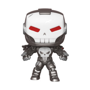Figura Funko Pop! Exclusivo PX - Punisher War Machine - Marvel