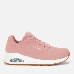 Skechers Women's Uno Stand on Air Trainers - Rose