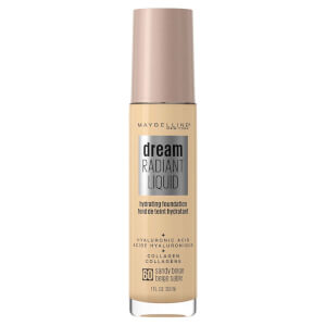 Maybelline Dream Radiant Liquid Hydrating Foundation 30ml (Various Shades)