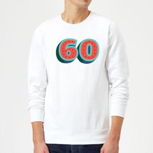 60 Dots Sweatshirt - White