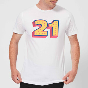 21 Dots Men's T-Shirt - White