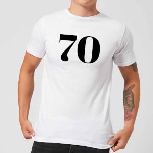 70 Men's T-Shirt - White
