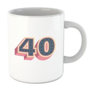 40 Dots Mug