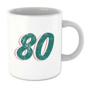 80 Distressed Mug