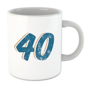 40 Distressed Mug