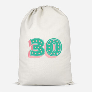 30 Dots Cotton Storage Bag