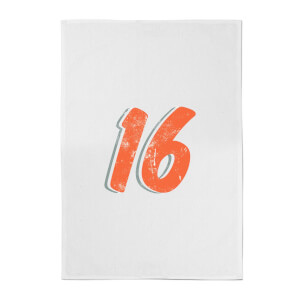 16 Distressed Cotton Tea Towel