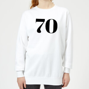 70 Women's Sweatshirt - White