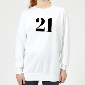 21 Women's Sweatshirt - White