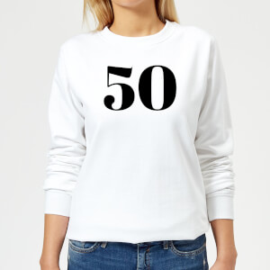 50 Women's Sweatshirt - White