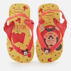 Havaianas Toddlers' Disney Classics II - Micky Flip Flops - Lemon Yellow
