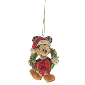 Disney Traditions Mickey Mouse Hanging Ornament 8cm