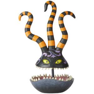 Disney Traditions Toothy Terror Harlequin Demon Trinket Dish 27cm