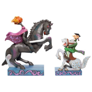 Disney Traditions Headless Horseman and Ichabod Crane Figurine TBC