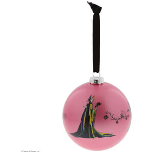 Enchanting Disney Collection A Forest Of Thorns (Maleficent Bauble) 10cm