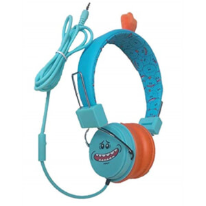 Rick and Morty Headphones Mic Meeseeks