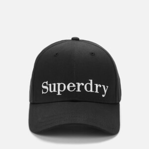 Superdry Women's Embroidery Cap - Black
