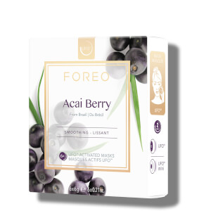 FOREO UFO Acai Berry Mini Firming Face Mask (6 Pack)