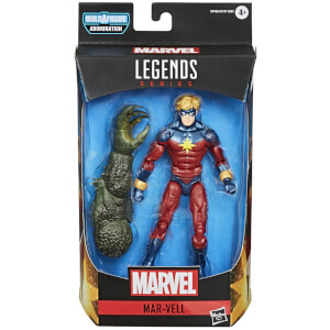 Hasbro Marvel Legends Series Gamerverse Mar-Vell Action Figure