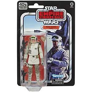 Star Wars The Black Series - Figurine articulée de soldat rebelle (Hoth)