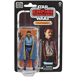 Star Wars The Black Series - Figurine articulée Lando Calrissian
