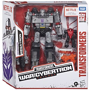 Hasbro Transformers War for Cybertron Series-Inspired Megatron Battle 3-Pack