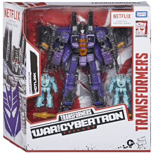 Hasbro Transformers War for Cybertron Series-Inspired Decepticon Hotlink 3-Pack