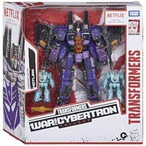 Pack 3 Figuras Decepticon Hotlink - Transformers War for Cybertron