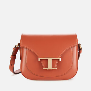 Tod's Women's Logo Micro Saddle Bag - Tan