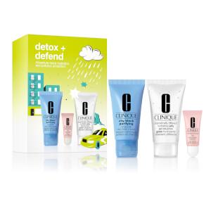 Clinique Detox + Defend Set