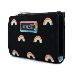 Loungefly Pride Canvas Rainbows Wallet