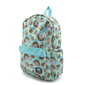Loungefly Star Wars The Child Aop Nylon Backpack