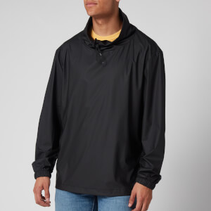RAINS Men's Mover Ultralight Pullover Jacket - Black