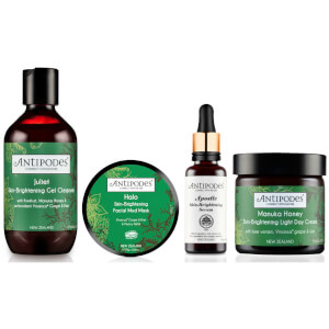 Antipodes Skin Brightening Morning Routine