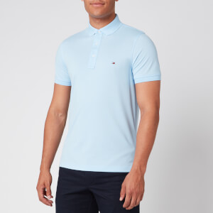 Tommy Hilfiger Men's Slim Polo Shirt - Calm Blue