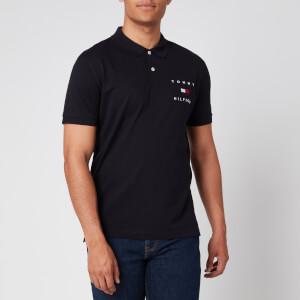 Tommy Hilfiger Men's Regular Fit Flag Polo Shirt - Desert Sky