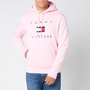 Tommy Hilfiger Men's Flag Hoody - Classic Pink