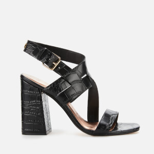 Ted Baker Women's Kaseraa Block Heeled Sandals - Black