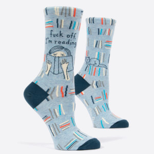 F*ck Off, I'm Reading - Women's Socks