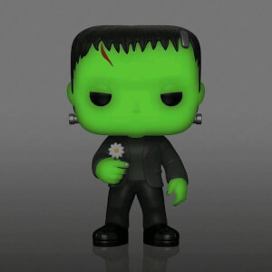 Universal Monsters - Frankenstein Mit Blume GITD EXC Pop! Vinyl Figur