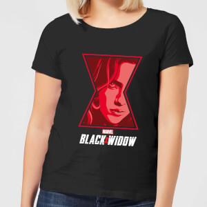 Camiseta Viuda Negra Close Up - Mujer - Negro