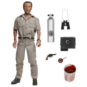 NECA Jaws Chief Martin Brody 8 Inch Clothed Action Figure